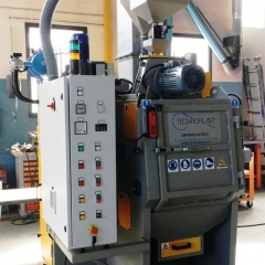 Rubber belt shotblasting machines GSG