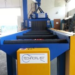 Roller shotblasting machines SAR