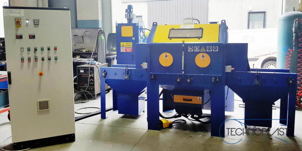 Technoblast • Compressed air sandblasting machines